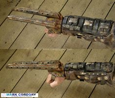 Post Apocalyptic LARP fighting claw (foam and latex, core-less). Mark Cordory Creations. www.markcordory.com