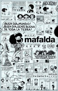 51 years old. Love her! Mafalda Quotes, My Pat, Cartoon Wall, Humor Grafico, Color Of Life, Betty Boop, France, Pattern Wallpaper, Comic Strips