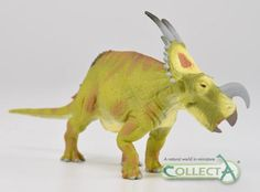 Horned dinosaur model CollectA Einiosaurus.