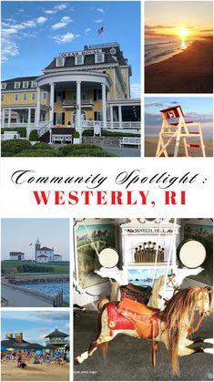 Beautiful Beach Houses, Beautiful Ocean, Westerly Rhode Island, Rhode Island Beaches, Ocean House, All I Ever Wanted, Travel Humor, Seaside Towns, Beach Town