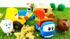 #Игрушки и Ферма: Пластилин, Бассейн и Шарики ОРБИС! Игры для детей: Лев...