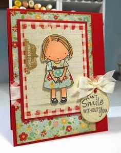 I Love Pure Innocence stamps!