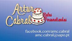 EAT MORE CAKE: A arte comestível de Artur Cabral
