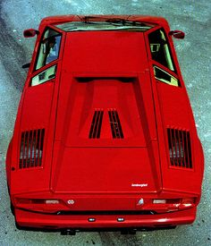 Lamborghini Countach... it looks like a starship!!! lol