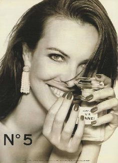 chanel n5 by chanel with carole bouquet 1996 - Carole Bouquet Mariage 1991