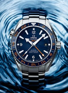 "An innovative wristwatch that serves as a tribute to the GoodPlanet Foundation OMEGA the Seamaster Planet Ocean 600M ""GoodPlanet"" (PR/Pics http://watchmobile7.com/data/News/2013/05/130511-omega-Seamaster_Planet_Ocean_600M_GoodPlanet.html) (1/4)"
