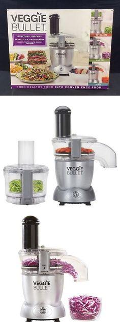 BRAND Veggie Bullet Food Processor 3 Functions 12 piece set