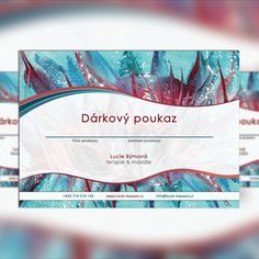 Graphic design of a business voucher. #graphicdesign #design #brochure #flyer #business #voucher Photoshop, Tapestry, Graphic Design, Business, Hanging Tapestry, Tapestries, Business Illustration, Wall Rugs