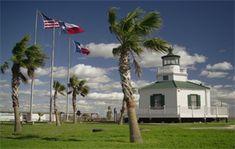 Halfmoon Reef Lighthouse, Texas at Lighthousefriends.com