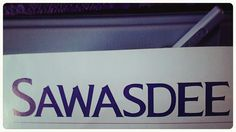 Sawasdee!!