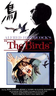 The Birds posters for sale online. Buy The Birds movie posters from Movie Poster Shop. We're your movie poster source for new releases and vintage movie posters. Old Movie Posters, Classic Movie Posters, Horror Movie Posters, Horror Films, Scary Movies, Old Movies, Vintage Movies, Great Movies, The Birds Movie