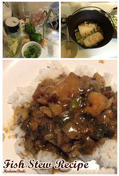 Kids Meal Recipes: Courtbouillion - Fish Stew Recipe - Madame Deals, Inc.