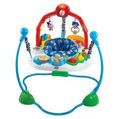 Fisher-Price Laugh & Learn Jumperoo, Blue/Red/White/Green