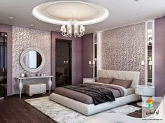 30 The Pitfall Of Venetian Bedroom 18 - neweradecor Simple Bedroom Design, Home Room Design, Master Bedroom Design, Home Decor Bedroom, Interior Design Living Room, Bedroom Designs, Luxurious Bedrooms, Live, Purple Rooms