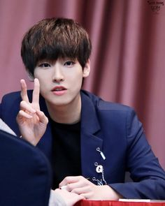 Inseong ~ His eyes are so attractive