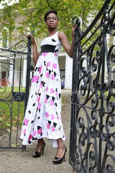 Floaty bright pure cotton dress UK by BoutiqueDeLAfrique on Etsy Cotton Dresses Uk, High End Fashion, Boutique, Fashion Brand, High Waisted Skirt, Runway, Bright, House Styles, Skirts