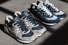 The 'Made in USA' New Balance 585 hit the shelves in the mid 90s boasting new stabilising technology built into heel, now two OG colourways are back.