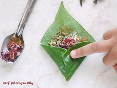 This is a link to a paan recipe that I think is interesting and would be a cool addition to our future menu. However paan has a bad rap for its use of the betel nut and leaf. They are like tobacco and the nut is linked to cancer. The leaf is debated.   I would like to take on this classic dish, and keep the preserves and other breath freshing qualities, but keep the nut out of it and use something else for the leaf on the outside like perhaps chinese broccoli or mint