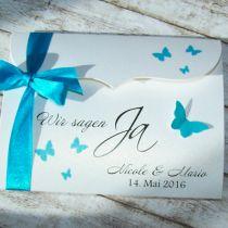 romantisch schleife einsteckkarte einladungen hochzeit opl022 neue, Einladungsentwurf