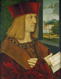 TRIUMPH OF HOLY ROMAN EMPEROR KING MAXIMILIAN I PAINTING ART REAL CANVAS PRINT