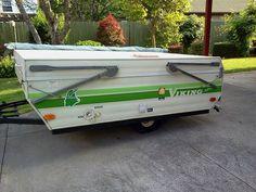 1983 Viking Mini Gasser Pop Up Camper | Camper Dreams ...