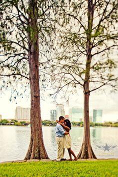 Jessica + Adrien's Engagement Shoot around Lake Eola in Orlando, FL Engagement Pictures, Engagement Shoots, Engagement Photography, Wedding Pictures, Wedding Ideas, Lake Eola, Outdoor Photos, Orlando, Picture Ideas