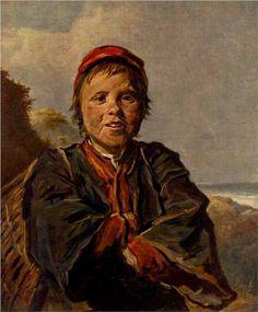 Fisher boy  - Frans Hals