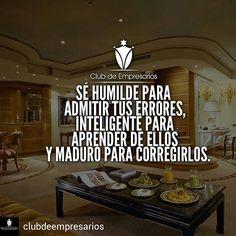 @Regrann from @clubdeempresarios -  Humildad, inteligencia y madurez!  @ClubDeEmpresarios  #ClubDeEmpresarios  #Dinero #Lujo #Lujos #Motivacion #Motivacional #Emprendedor #Emprendedores #Startup #Emprende #Lujos #Lujuria #Inspiracion #Frase #Frases #Vida #Exito #Trabajo #Negocios #Money #Luxury #Empresario #Empresarios #FraseDelDia #Entrepreneur #Money #Success #Business #Riqueza shared by @rg13consultores…