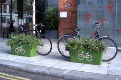 Plantlock bicycle security