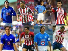 CONOCE A LOS FUTBOLISTAS QUE JUGARON PARA CHIVAS Y CRUZ AZUL || Elementos que fueron emblemáticos han vestido las playeras del Rebaño y La Máquina; en los últimos torneos es una práctica más común.