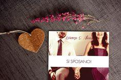 origami marsala invite wedding