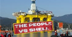 In Seattle, It's David vs. Goliath as Kayakers Hit Water to Protest Shell Oil   Common Dreams   Breaking News & Views for the Progressive Community