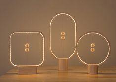 Stylish Wooden Lamp with Levitating Switch – Fubiz Media