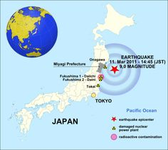 Water quality instrument detects earthquake and tsunami from over miles away. Japan Earthquake, Earthquake And Tsunami, Fukushima, Miyagi, The Verve, Nuclear Power, Water Quality, Thriller, Tokyo