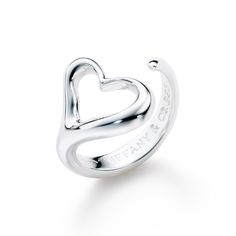 I hope someone will either retrieve or replace my Tiffany by Elsa Peretti Open Heart ring that is currently sitting in my unused sink drain (I hope!!)