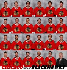 Your 2014-15 Chicago Blackhawks!