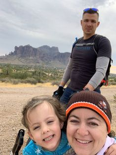 Atmosphere team members and their families converged on a trail in the Superstition Mountain to clean and preserve it.