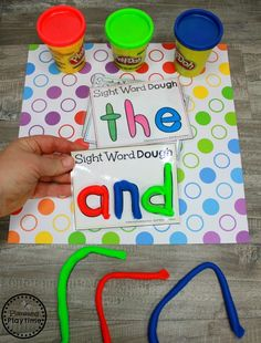 Words for Kindergarten Sight Words for Kindergarten Join our Email Group for Ideas, Freebies & Special Offers.Looking for fun ideas to teach Sight Words for Kindergarten? These awesome hands oHelping Hand Helping Hand or Helping Hands may refer to: Spelling Activities, Sight Word Activities, Toddler Learning Activities, Phonics Activities, Kids Learning, Sight Word Worksheets, Sight Word Games, Preschool Sight Words, Kindergarten Activities