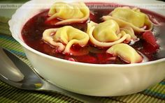 Barszcz czerwony - This is a soup of beetroot that includes sour cream and vegetables and is often served with dumplings. Borscht Recipe, Polish Christmas, Christmas Time, Polish Recipes, Polish Food, Beetroot, International Recipes, Beets, Fruit Salad