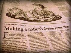 Making a nation's dream come true (China Daily)