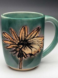 Megan Daloz mug at MudFire Gallery