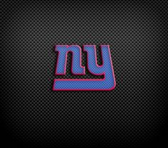 New York Giants carbon fiber style wallpaper. New York Giants, Carbon Fiber, Badass, Nfl, Neon Signs, Wallpaper, Sports, Style, Hs Sports
