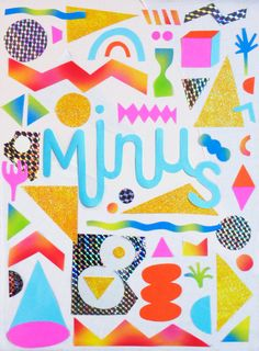 Minus is a collective composed of two graphic designer (Asuka Watanabe and Pauline Guerini). Create in may 2017, the purpose of Minus is to make workshop for children around design.