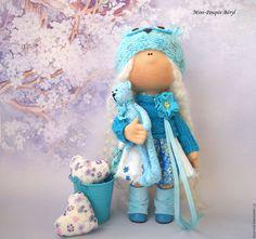 """Коллекционные куклы ручной работы. Ярмарка Мастеров - ручная работа. Купить Куколка """"Девочка Beryl """". Handmade. Куколка, тыква"""