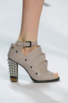 The Best Shoes From This Season's Runways. #Fendi #shoes #pfw