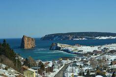 """Percé, Québec, Canada (via Guia Viajar Melhor """"9 cidades para conhecer na província de Quebec no Canadá"""")"""