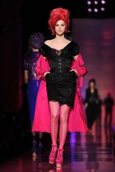 Jean Paul Gaultier Spring 2012: A bit Kelly Osbourne