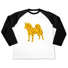 ひまわり柴犬 | デザインTシャツ通販 T-SHIRTS TRINITY(Tシャツトリニティ)柴犬のシルエットの中に咲いた向日葵がとっても奇麗。 シンプルなだけど夏の向日葵を思い浮かべるアートなシルエットしばけんグッズ★沢山のお花が奇麗なフラワー&犬シルエットのコラボレーションデザイン。 可愛くてシンプルなプリントが好きな方へおすすめです♥