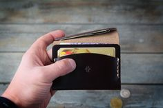 Horween Chromexcel Wallet Personalized leather от Manufacturabrand
