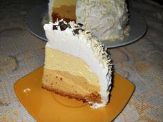 Cupola cu vanilie si caramel